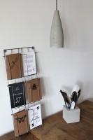 Het Noteboompje cementlamp met textielsnoer