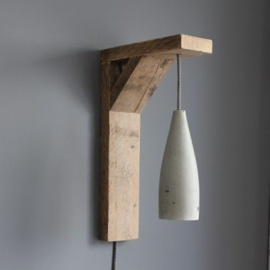 cementlamp cement beton betonlamp lamp Het Noteboompje lampaccessoires lamp accessessoires inrichting cement steigerhout textielsnoer strijkijzersnoer