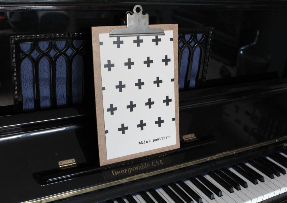 Het Noteboompje poster zwart wit zwartwit zwart-wit zwart/wit grijsbord