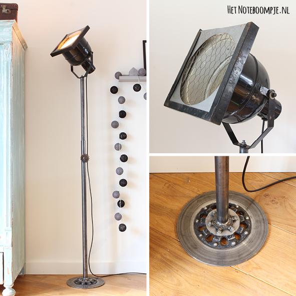Theaterlamp no. 3 (vintage, industrieel, theaterspot)
