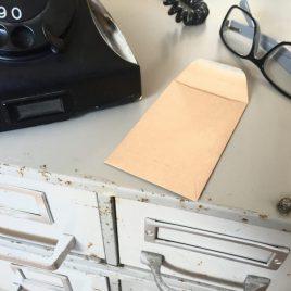 Het Noteboompje loonzakje bruin envelopje zakje