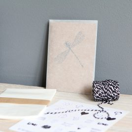 Het Noteboompje pergamijn zakje envelop pergamijnzakje A6