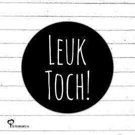 Het Noteboompje zwart wit zwartwit zwart-wit zwart/wit monochrome monochroom sticker etiket sluitzegel snailmail leuk toch