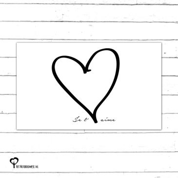 Het Noteboompje kaart kaartje minikaart kadokaart cadeaukaart bloemenkaart bloemenkaartje kadokaartje cadeaukaartje minikaartje zwart wit zwartwit zwart-wit zwart/wit monochrome monochroom
