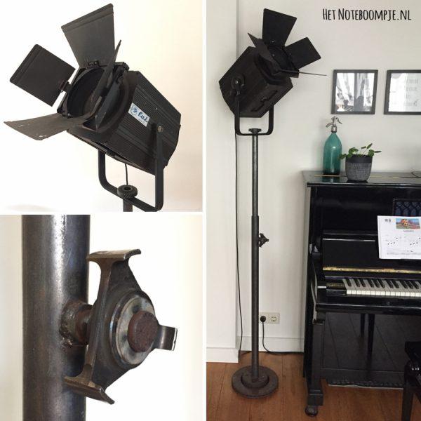 Theaterlamp no. 4 (vintage, industrieel, theaterspot)