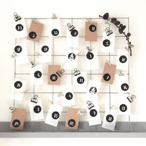 advent stickers adventsstickers adventstickers adventrek adventsrek pergamijn pergamijnzakje pergamijnzakjes loonzak loonzakje loonzakjes showrek showrekken gegalvaniseerd staal 60x60 10x10 binder clip clips office clip bulldog het noteboompje december kalender adventskalender
