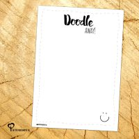 Het Noteboompje notitie notitieblok notitieblokje notepad weekplanner zwart wit zwartwit zwart-wit zwart/wit doodle memo memoblok memoblokje to do list