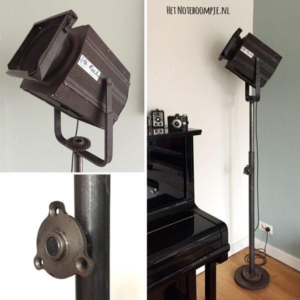 Theaterlamp no. 5 (vintage, industrieel, theaterspot)