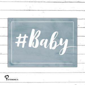 #baby geboortekaart geboorte geboren jongen aquarel watercolor felicitatiekaart hip kaart kaartje kaarten het noteboompje a6
