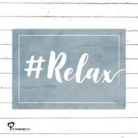 #relax relax blauw denim drift denimdrift kaart kaartje kaarten het noteboompje a6