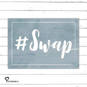 #swap instaswap swapmaatje swap blauw denim drift denimdrift kaart kaartje kaarten het noteboompje a6