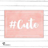 #cute cute schattig lief zalm zalmkleur zalmkleurig roze pink nude kaart kaartje kaarten het noteboompje a6