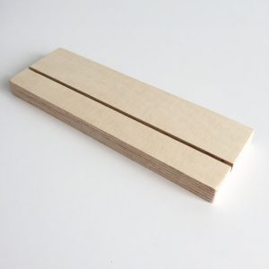 plexiglashouder liggend A5 plexiglasprint print op plexiglas
