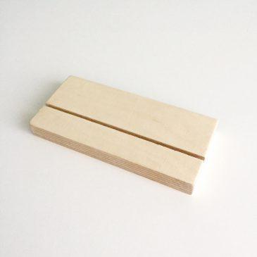 plexiglashouder staand A5 plexiglasprint print op plexiglas
