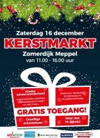 Zaterdag 16 december 2017 kerstmarkt Meppel (Zomerdijk: Gamma, Welkoop, Primo en Concordia) Het Noteboompje