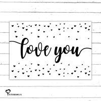 Het Noteboompje kaart woonkaart zwartwit zwart-wit zwart wit monochrome monochroom valentijn valentine valentijnskaart valentijnskaartje 14 februari valentijnsdag