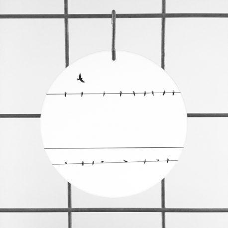 birds on a wire vogels op plexiglas plexiglashanger plexiglas hanger plexiglas print op plexiglas foto op glas print op acrylaat acrylaatprint, foto op acryl acrylfoto foto op glas, glasfoto foto op plexiglas foto op kunststof foto op plastic acrylprint glasprint plexiglasprinthet noteboompje