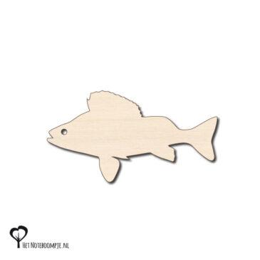 baars magneet hout roofvissen berk berken magneetje magneten magneetjes het noteboompje